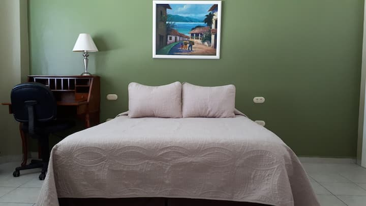 Casa Pavlova's Queen room- Immaculate & affordable