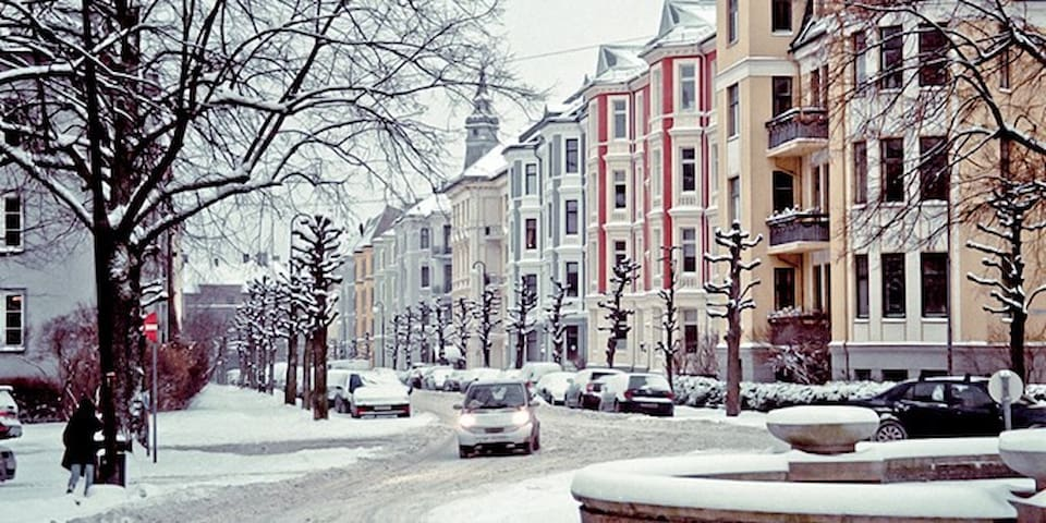 Stay at the exclusive district of West End Oslo