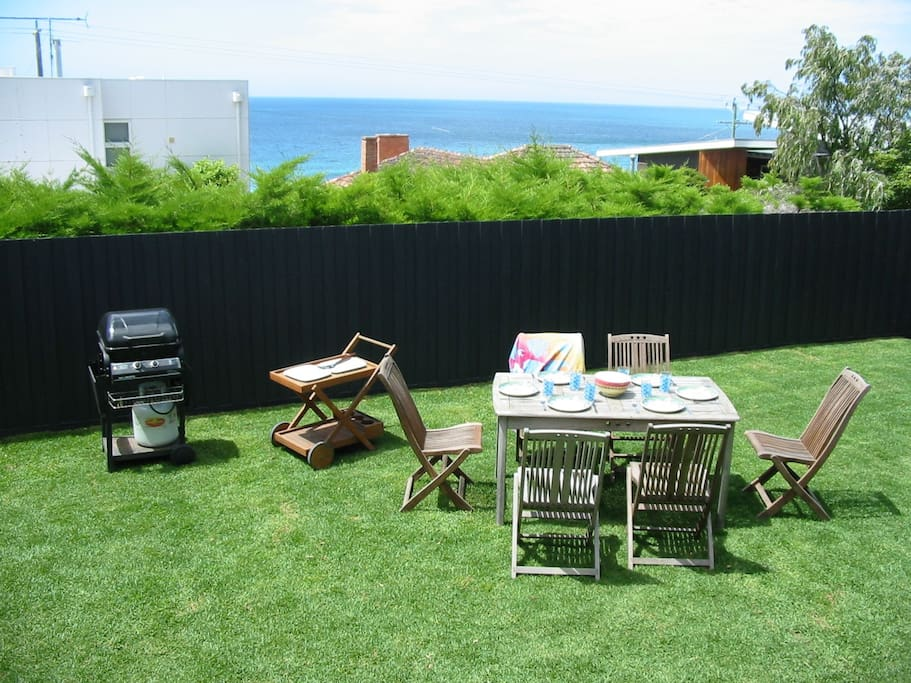 Fabulous views, your own yard - great for the kids!