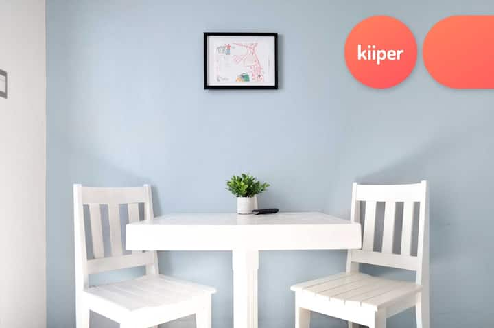 kiiper | Eficiente Loft en Zona 16 | 2 PPL