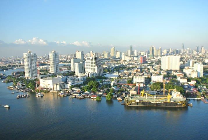 River view condominium - 曼谷 - 公寓