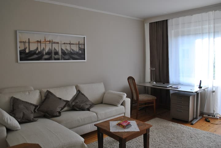 Sonnige 2-Zimmer-Wohnung in ruhiger Lage