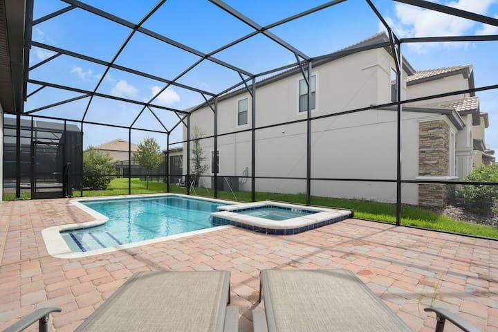 Holiday Villa w Pool & Spa Orlando