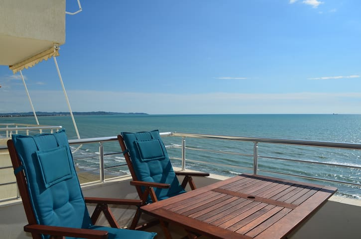 Beautiful Sea View Apartment in Durres - 75 - Durrës - Appartement