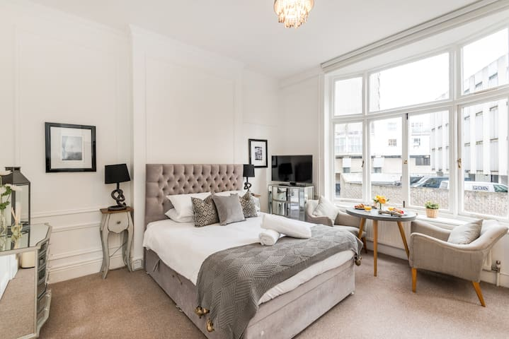 Elegant Studio near Harrods, Hyde Park and Tube!