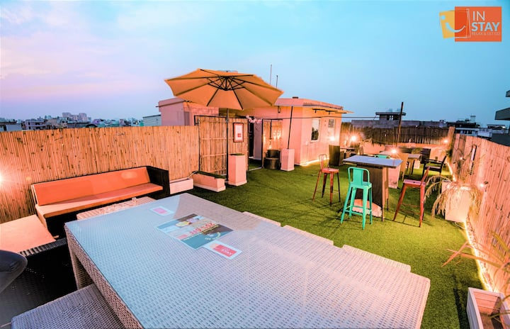 3.House party 3bhk relax place Instay