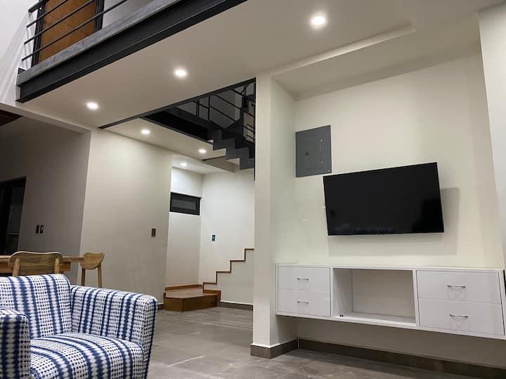Casa residencial con espacios confortables