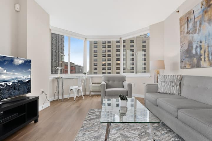 Magnificent Fully Furnished 1BR Apt Jersey City NJ