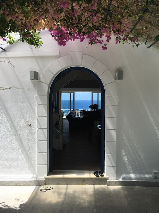 Entrance to the house...