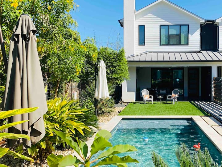 New! Hip Downtown Oasis w/ Private Pool