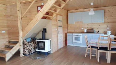 EKO PRZYSTANEK drewniany domek
