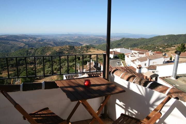 Gaucin double room with Africa view