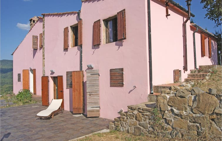 Holiday apartment with 1 bedroom on 40 m² in Sasso Pisano -PI-