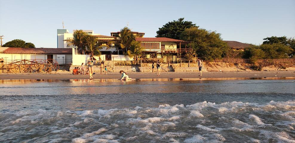 Casa a Beira Mar.  Praia do Coqueiro - Pi