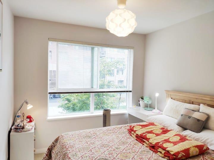 Cozy room w/private bathroom at  Richmond