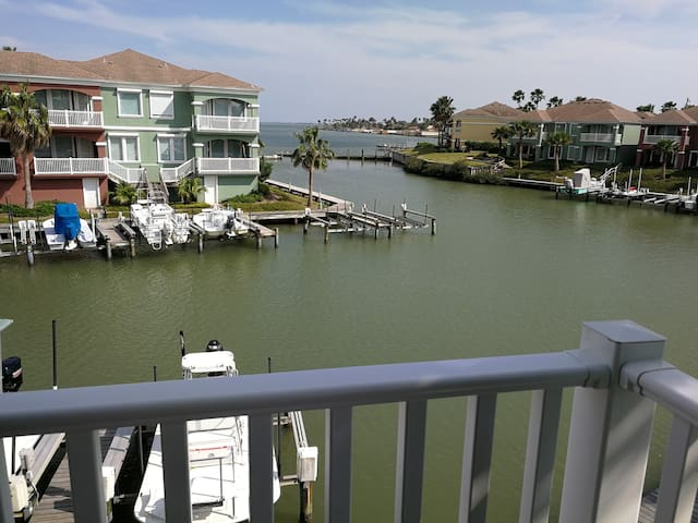 Waterfront South Padre Island Golf Club Townhome