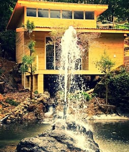 Dreamwater Villa..Private Waterfall - San Gerardo de Dota - Huis