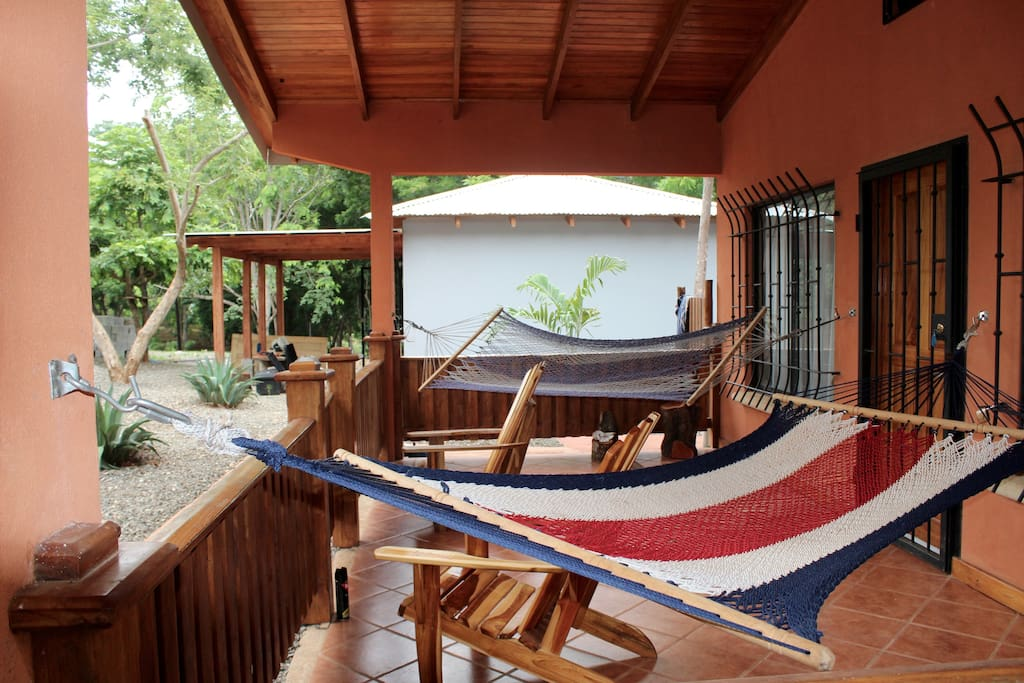 Hammocks to enjoy during your stay (: