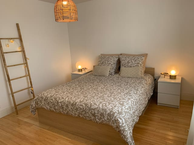 Chambre 1 avec lit 160x200cm