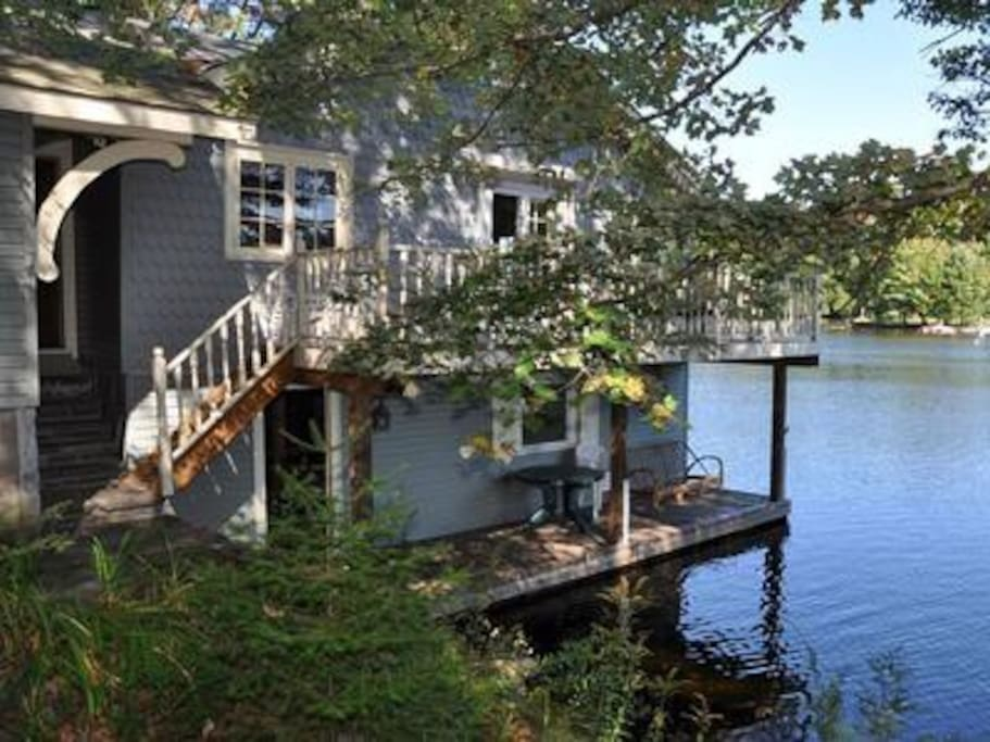 Adorable cottage on the water