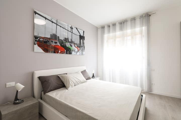 Curiel Apartment | Wi-Fi, Lavatrice per Humanitas