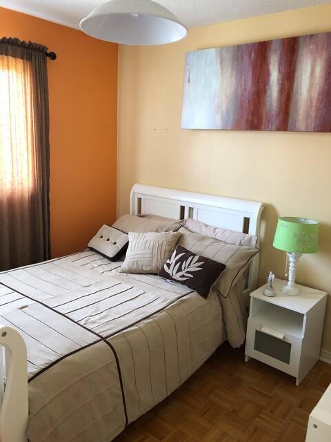 Amazing bedroom in amazing place
