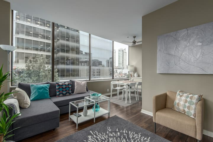 Live Your Downtown Dreams..!!!  One Bedroom apt.