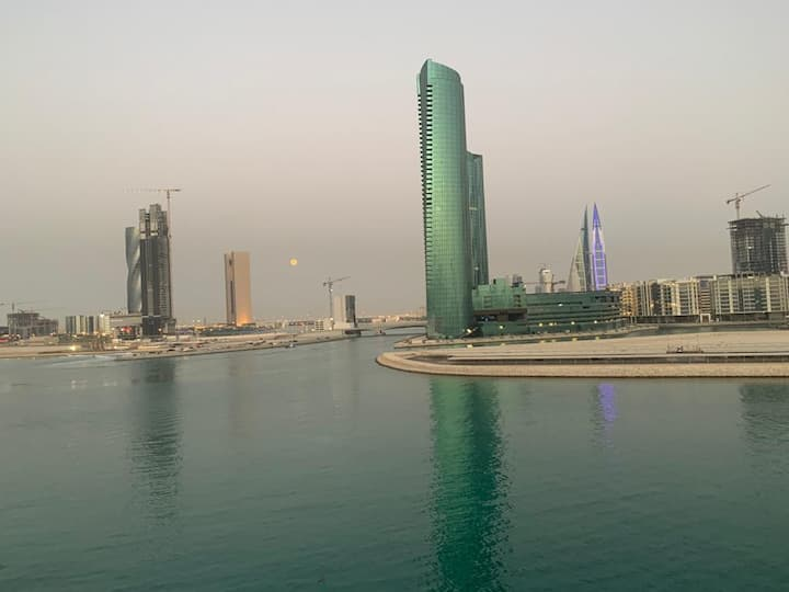 Modern 2 Bed Reef Island Seef Sea View Apartment