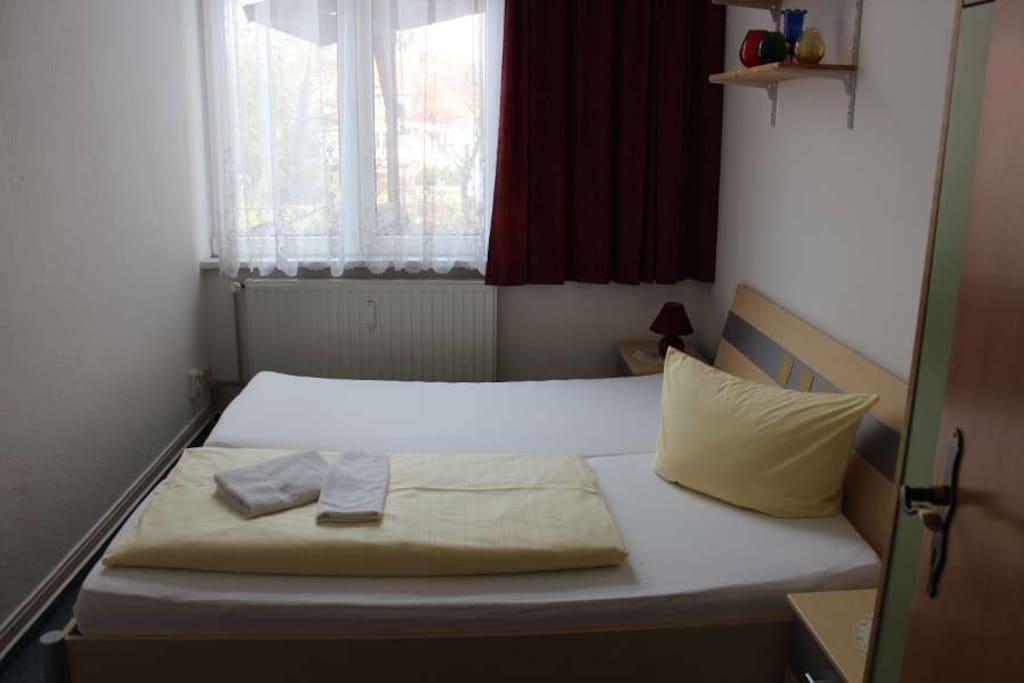 2. Schlafzimmer ruhig zur Hofseite