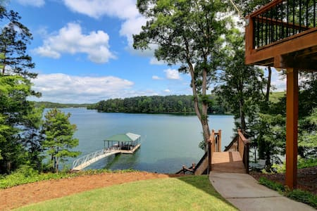 Lake Allatoona Vacation Lakehouse - Acworth