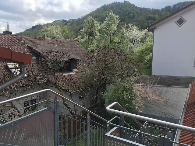 Obstbau Koch, (Bodman-Ludwigshafen), Ferienwohnung 1, 70qm, 2 Schlafzimmer, max. 6 Personen