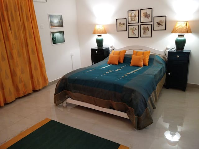 The Assagao House - Master Bedroom