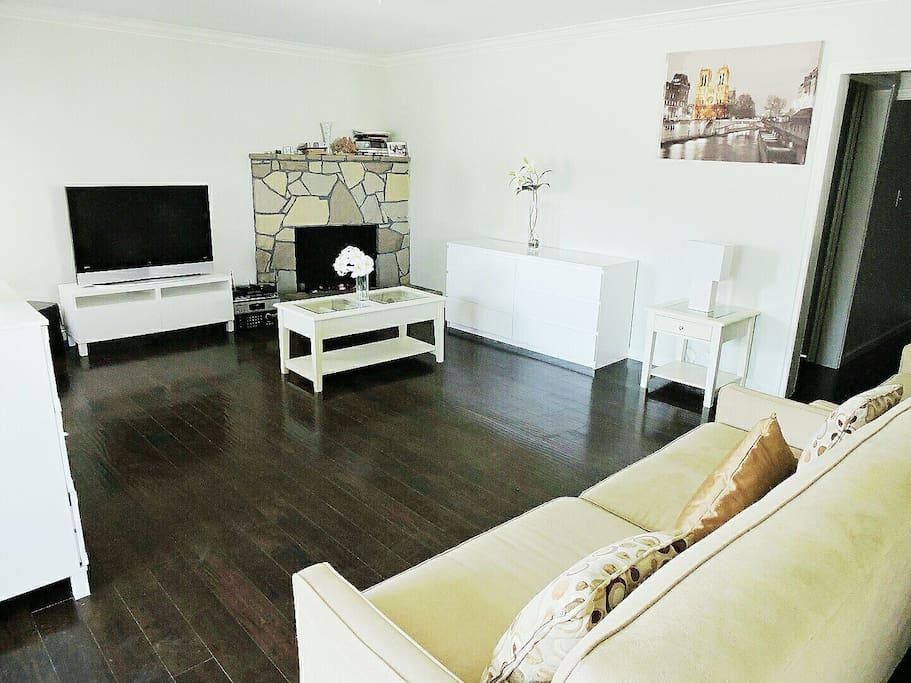 Living Room with Karaoke