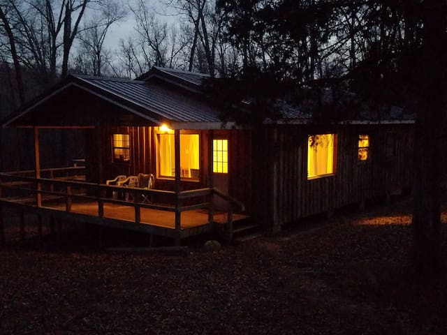 Cozy Camp Cabin in the Ozarks