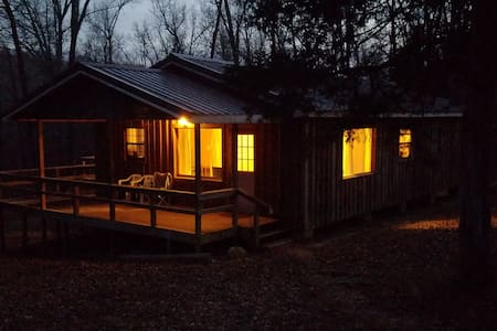 Cozy Camp Cabin in the Ozarks