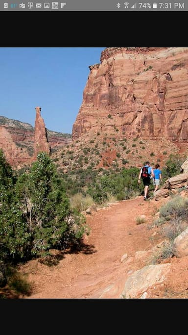 Just minutes away from this spot. Bring your hiking boots and enjoy this area and be back home within minutes.