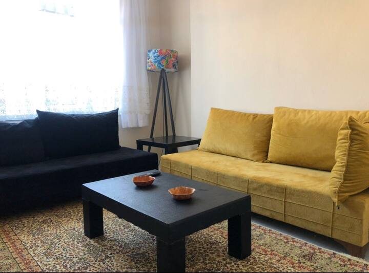 Bright flat at Historical city Balat with Netflix