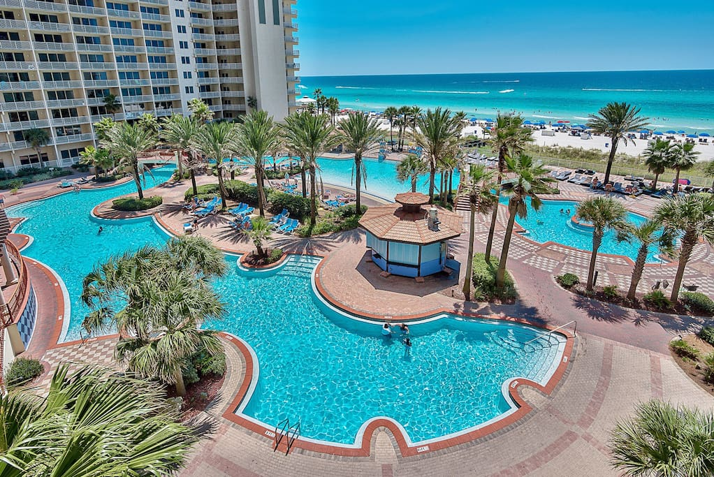 Beautiful Oceanfront Luxury 4th Floor Condo Condominiums For Rent In Panama City Beach