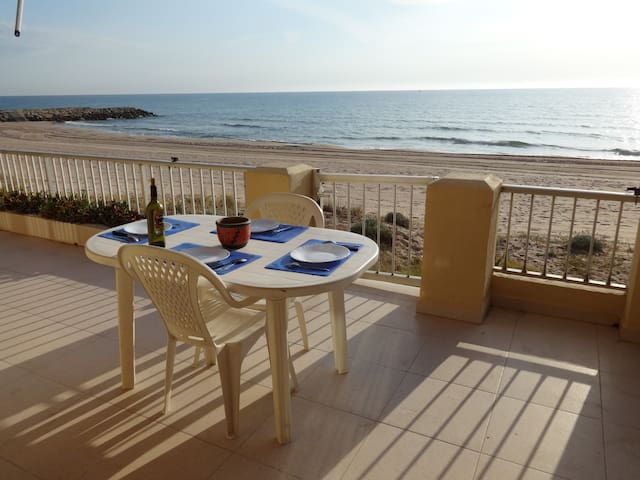 Appartement Direct Access to Beach - Tavernes de la Valldigna - Wohnung