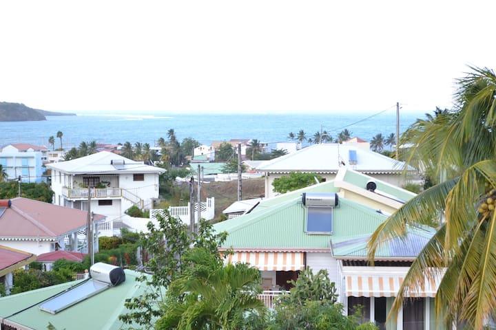 Le Belvedère de Sigy - Vue Mer, Montagne et Ville - Le Vauclin - Apartment
