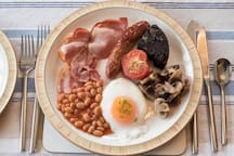 Full English Breakfast  - when breakfast ordered as an extra