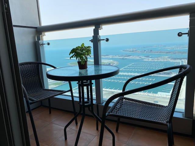 Amazing Room in Dubai Marina Full Palm & Sea View