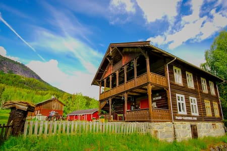 Guesthouse on Nord-Garthus farm in Valdres