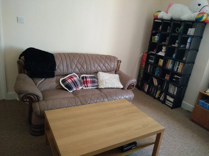 Cosy double bedroom in friendly central flat/home.
