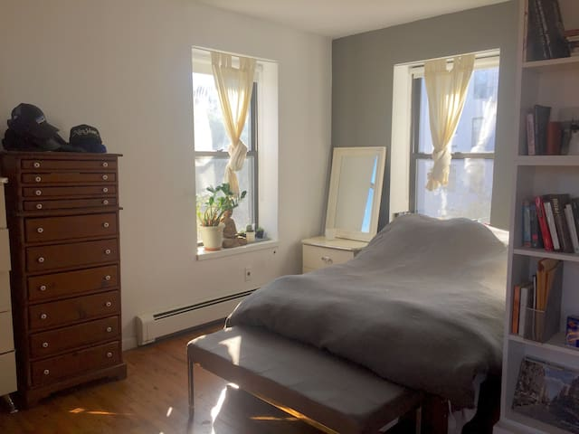 East Village Alcove Studio with Great Light & View