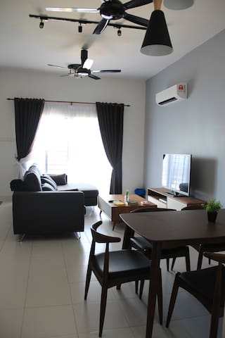 Living Room & Dinning Table