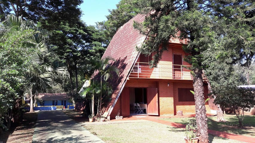 Nature, dogs, relax and friends! - Foz do Iguaçu - House
