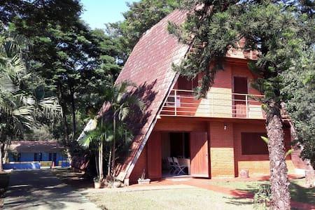 Nature, dogs, relax and friends! - Foz do Iguaçu - Ház