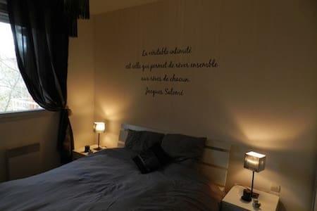 chambre dans T3 parking piscine - トゥルネフォイユ - アパート