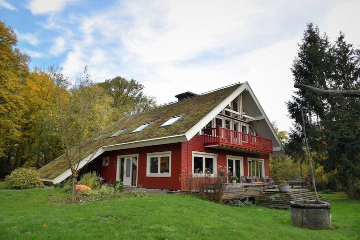 De Hamshorst, Scandinavische B&B in Twente